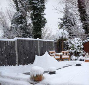 snow-pond
